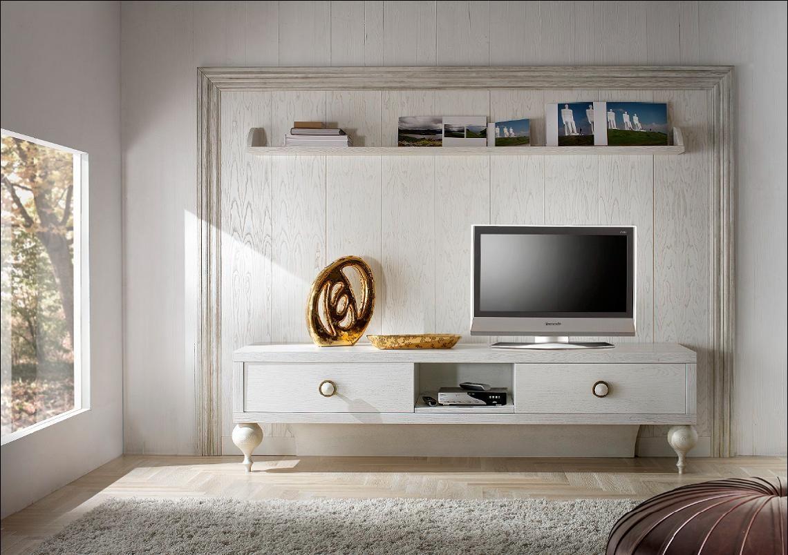 Porta Tv Foglia Oro.Mobile Basso Porta Tv
