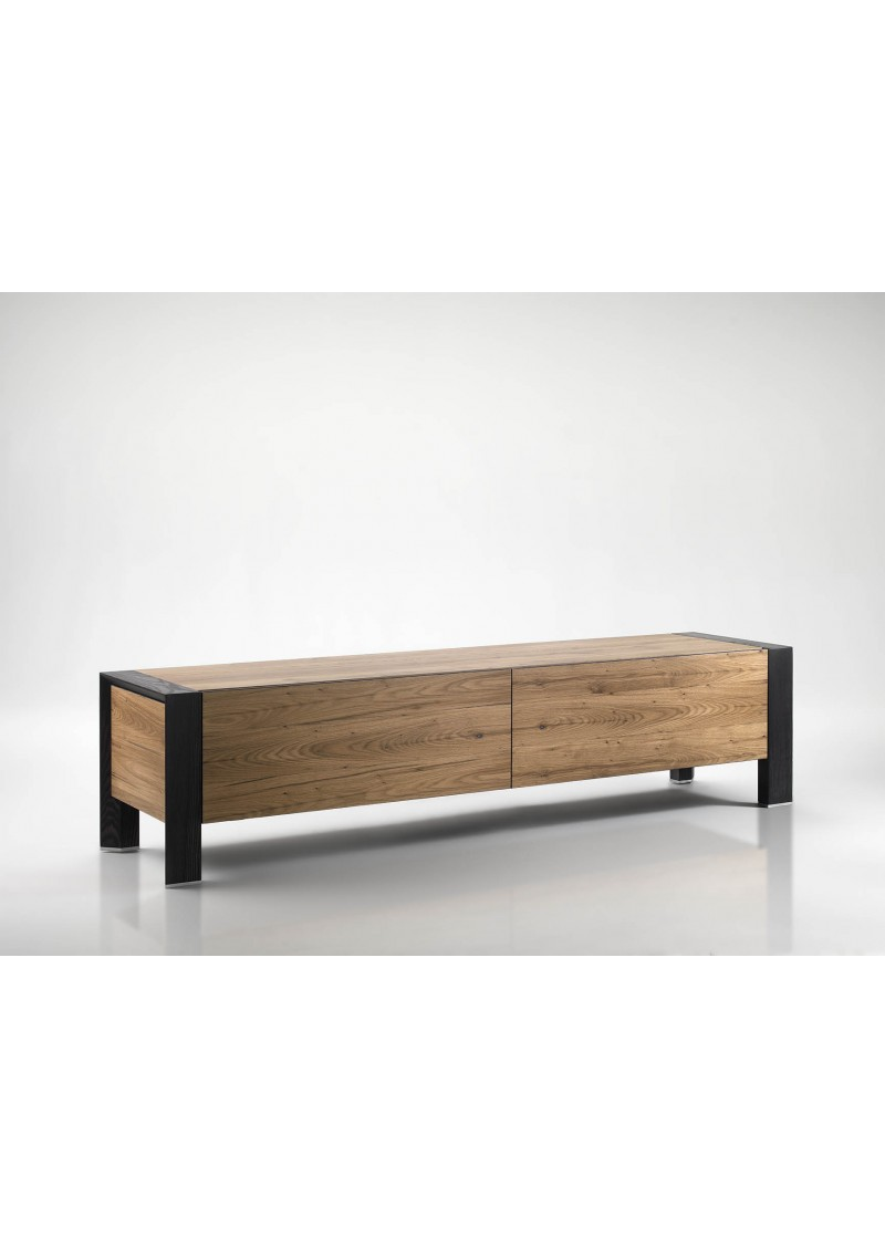Tv stand 39 500 eban creations not only wood for Meuble calligaris