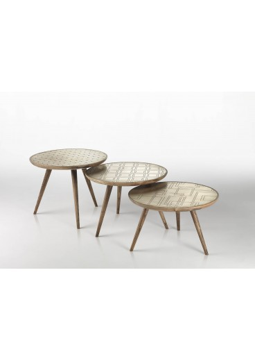 TABLES TRIO GOLD